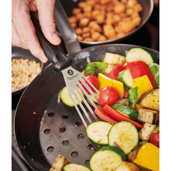 Poêle à légumes perforée OUTDOOR