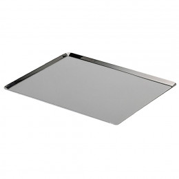 Baking tray GN oblique edges, stainless steel