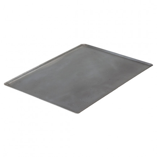 Baking tray GN straight edges, steel