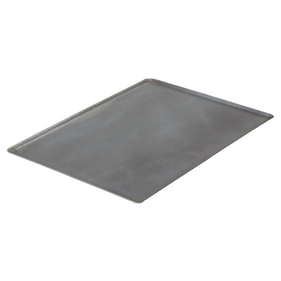Plaque de cuisson bords pincés acier