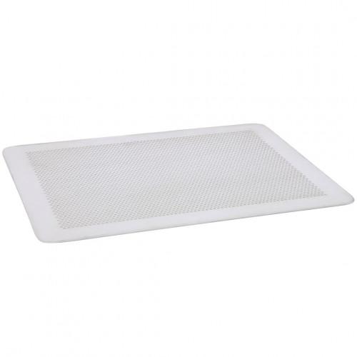 Plaque de cuisson micro-perforée plate