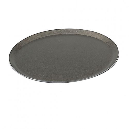 Non-stick round tray