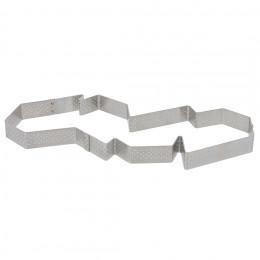 Tart ring C. RENOU, perforated stainless steel