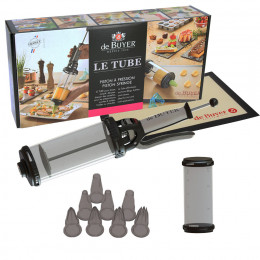 LE TUBE automatic pastry dispenser and accessories