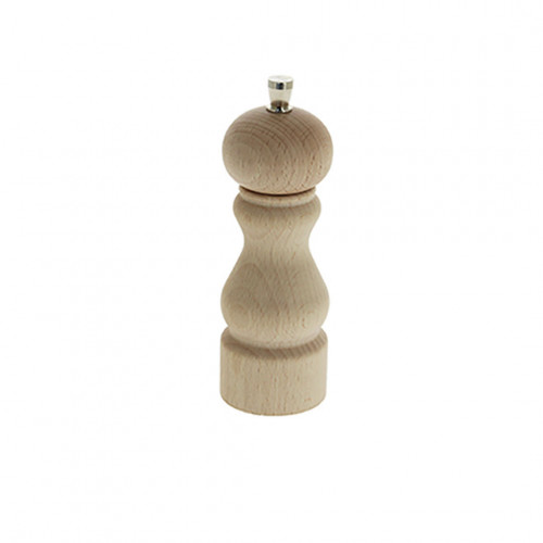 Salt mill wood 14 cm RUMBA