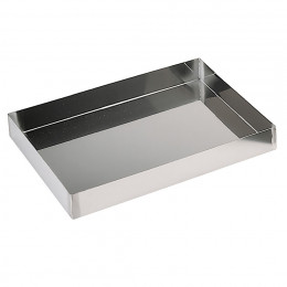 ST. STEEL STRAIGHT GENOISE MOLD, WATERTIGHT