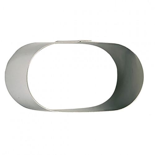 Ring, stainless steel, oblong