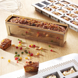 Rectangular long mould and non-stick baking sheet CONCEPT J.LANGILLIER