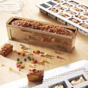 Moule à cake de voyage inox et feuille de cuisson antiadhésive CONCEPT J.LANGILLIER