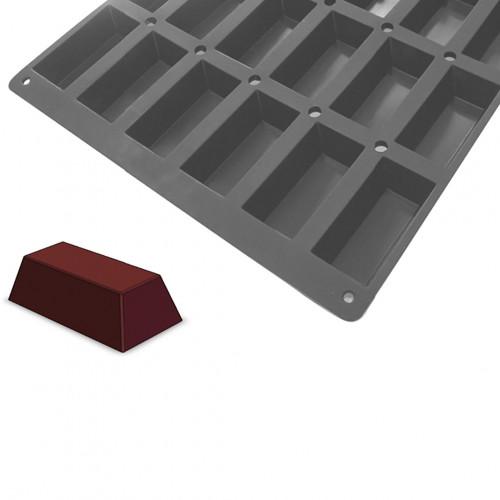 Plaque petits cakes MOUL FLEX PRO, silicone
