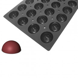 Tray hemispherical moulds MOUL FLEX PRO, silicone