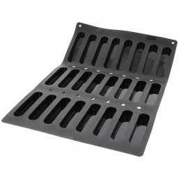 Tray 24 oblong moulds MOUL FLEX PRO, silicone