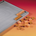 Pastry mat with straight edges ELASTOMOULE, silicone foam