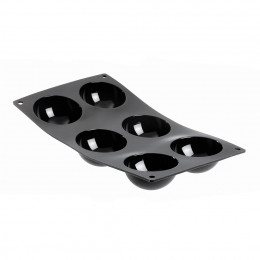 Tray hemispherical mini moulds MOUL FLEX, silicone