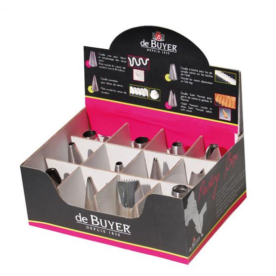 Boite distributrice Pastry Box - Assortiment 60 douilles
