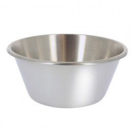 FLAT BOTTOM PASTRY BOWL, ROUND OPENED ED