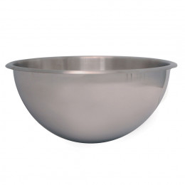 ST. STEEL HEMISPHERICAL BOWL
