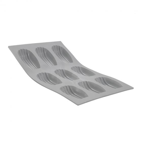 Plaque madeleines ELASTOMOULE, mousse de silicone
