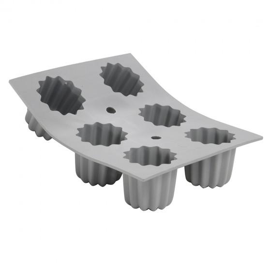Tray Canelés bordelais ELASTOMOULE, silicone foam