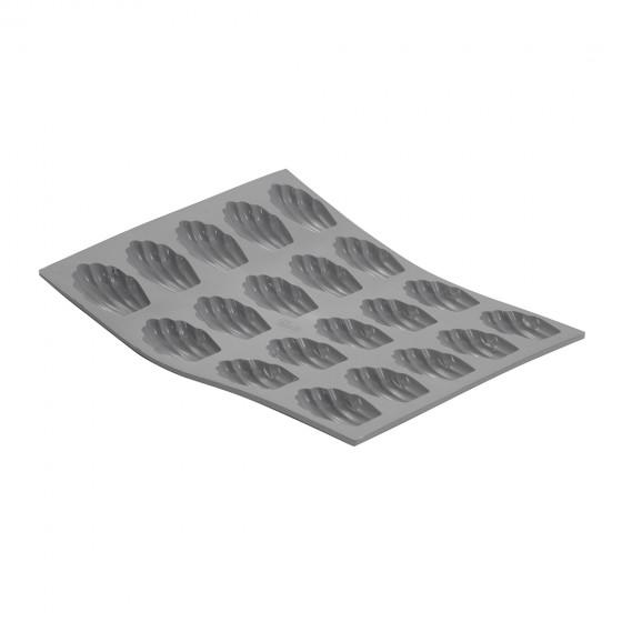 Plaque mini madeleines ELASTOMOULE, mousse de silicone