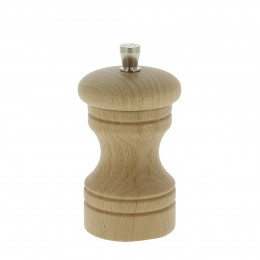 Salt mill wood 10 cm PASO