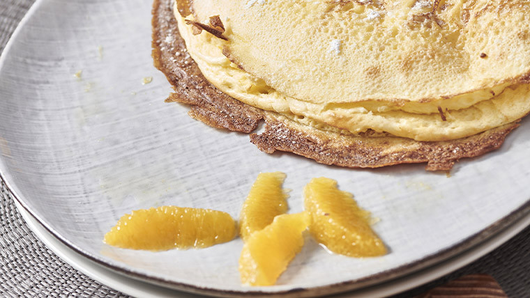 Crêpes soufflées with Grand Marnier®